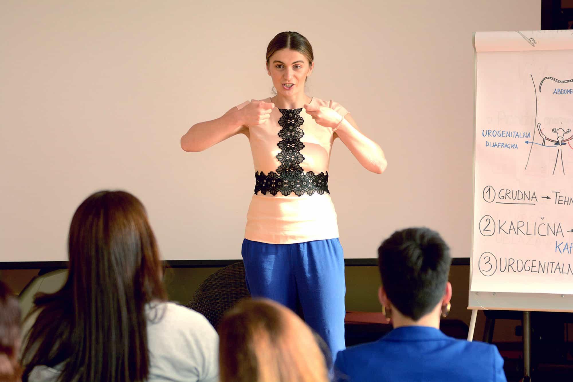 Petra Cutuk Vjeruj Traži Manifestiraj Zdravlje Meditacija Vježbe Disanja Samopouzdanje Posao Snaga Žene Pula Inspiracija